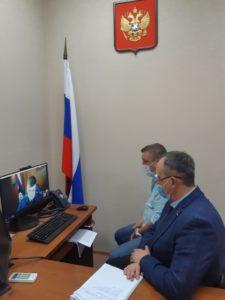 Совместный прием предпринимателей с Прокурором Липецкой области